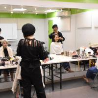 ヘアメイク、宣材撮影、プロ,ダンサー,歌手,俳優,モデル,ダンス,芸能,専門,学校,スクール,TOKYO STEPS ARTS,宣材撮影