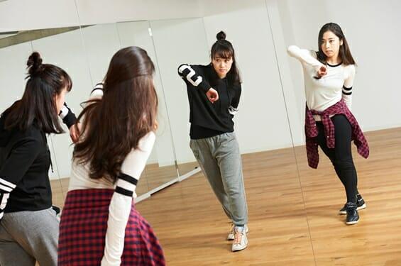 ダンス専門学校 初心者1